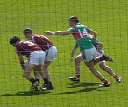 First-half action