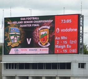 Meath v Mayo Final Score