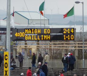 Mayo v Galway Final Score