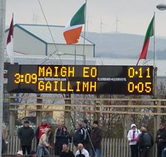 Mayo v Galway HT