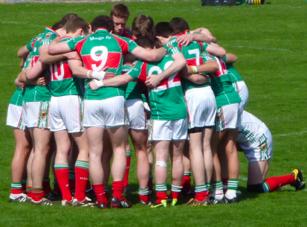 Team huddle Pairc Ui Chaoimh