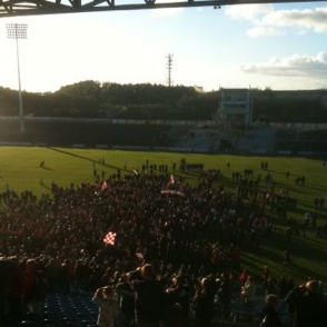 McHale Pk after County Final
