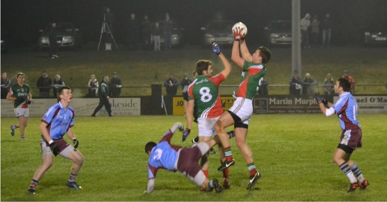 Barry Moran catch v GMIT