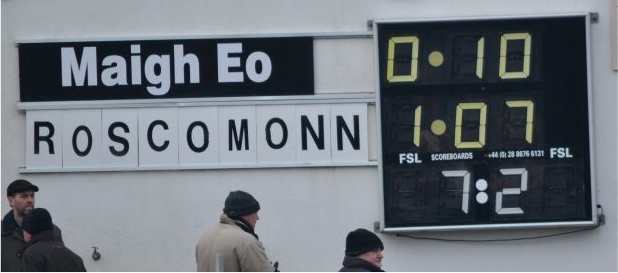 Final score (that's not how you spell Roscommon)