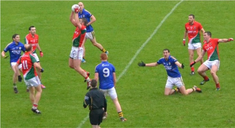 Aidan O'Shea catch
