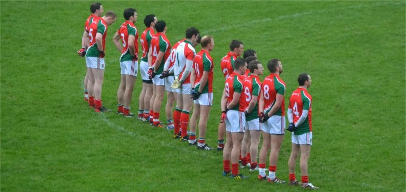 Mayo team v Kerry Feb 2013