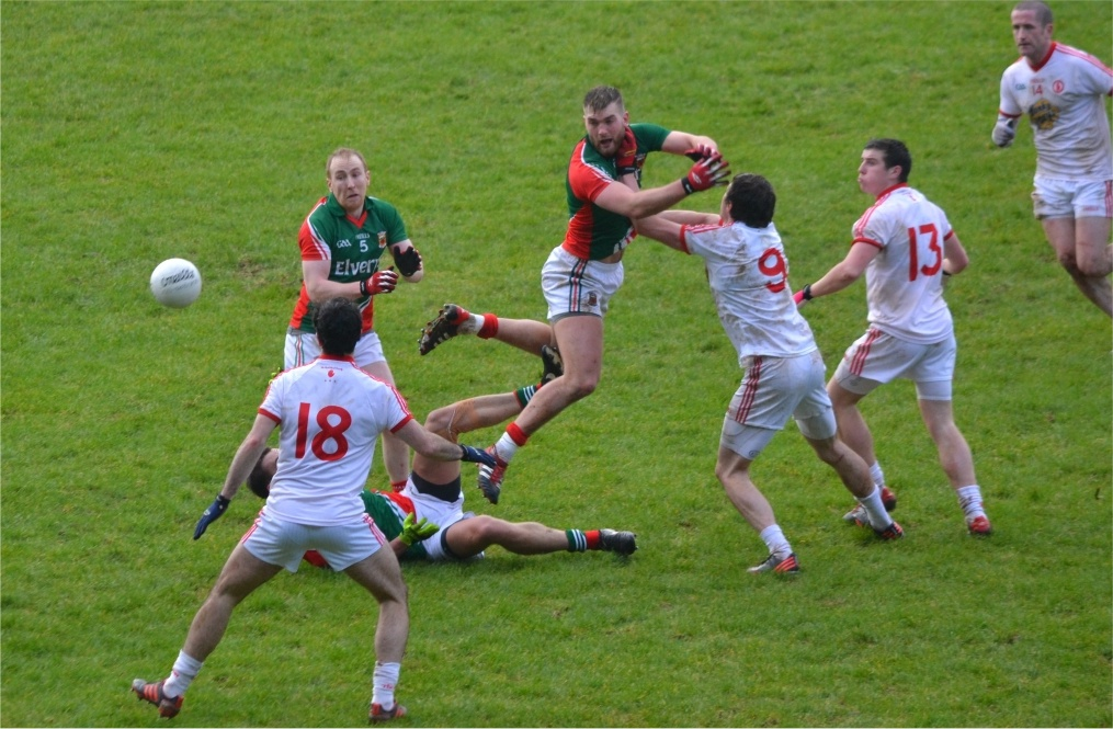 Mayo v Tyrone Action shot