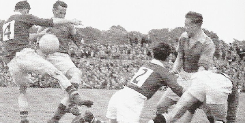 Peter Solan Mick Mulderrig 1951 Connacht Final