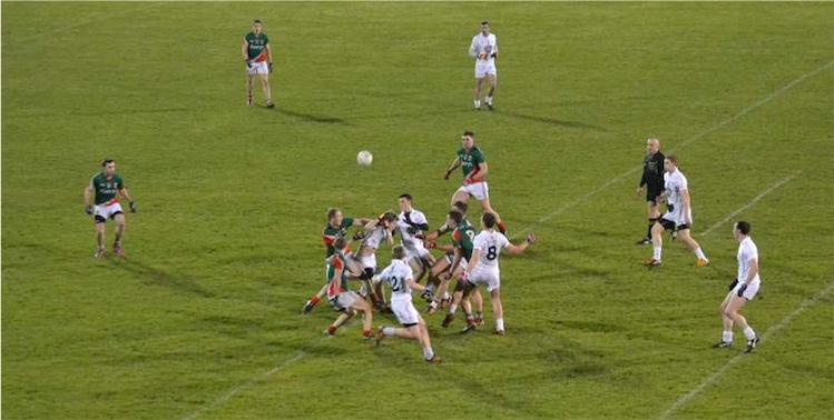 Mayo v Kildare action shot