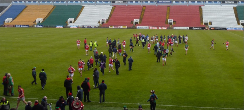 Cork Mayo after the final whistle