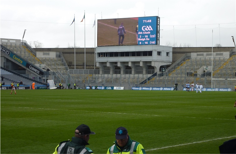 Dublin Mayo Final Score_
