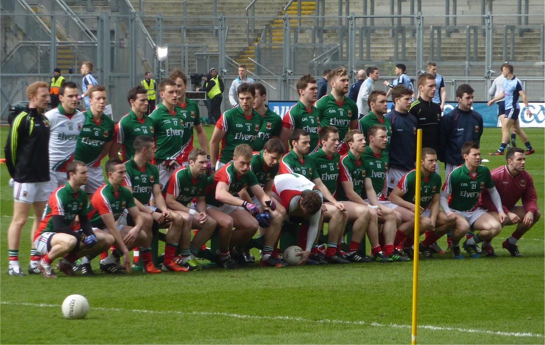 Mayo team photo v Dublin 14042013