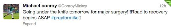 Mickey C tweet