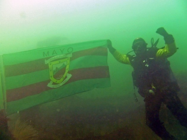 Up Mayo under the sea