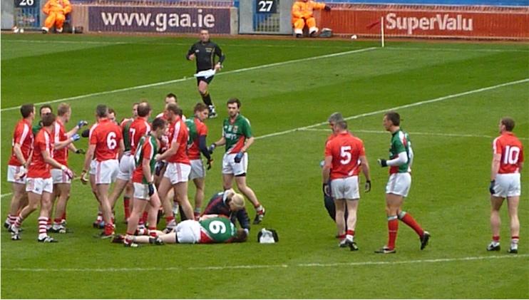 Cork Mayo NFLfinal 2012