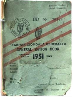 Ration book 1951
