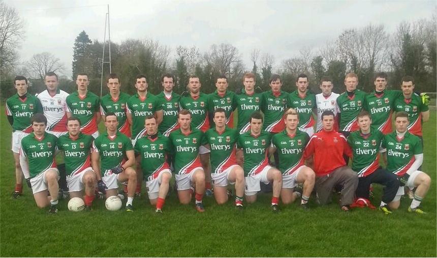 Mayo U21 v Longford Jan 2014