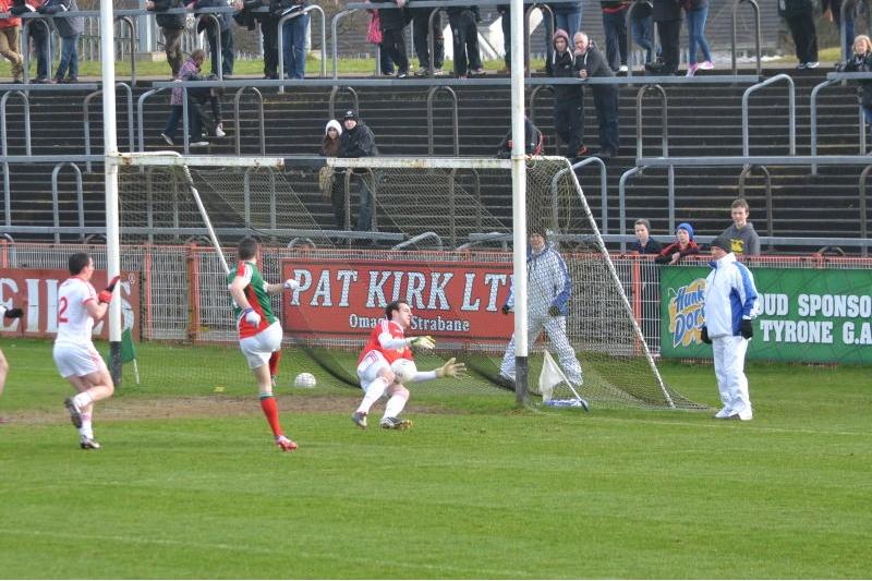 David Drake goal chance