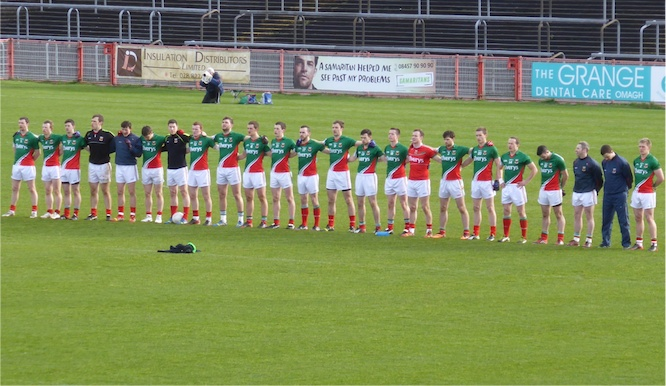 Mayo team and subs
