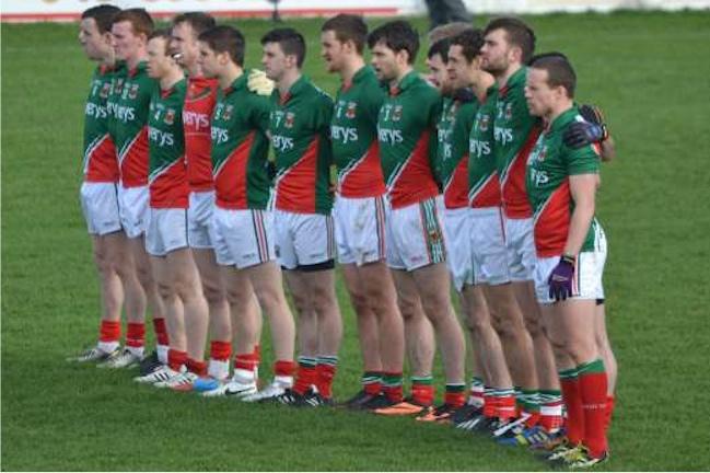 Mayo team v Kildare
