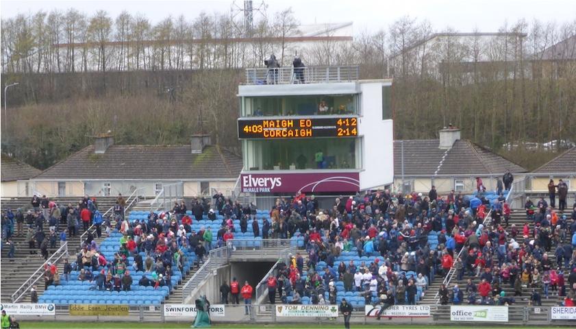 Final score Mayo Cork