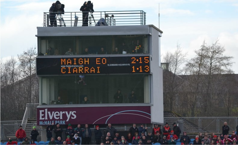 Mayo Kerry final score March 2014