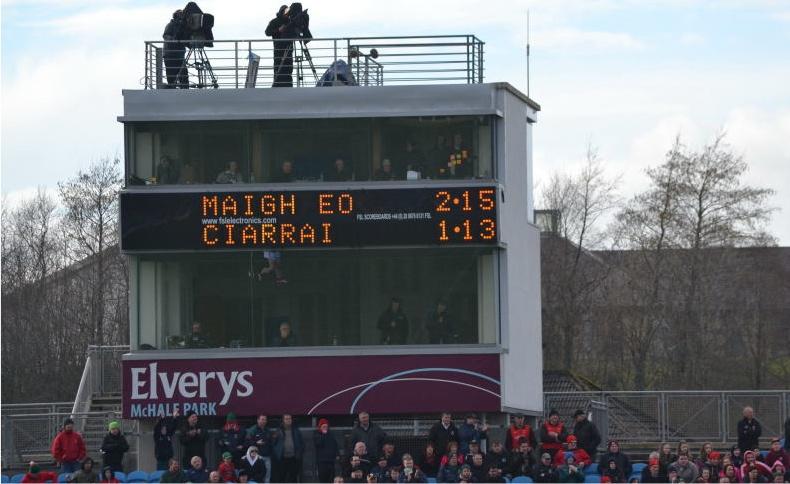 Mayo Kerry final score March 2014