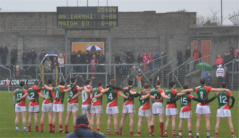 Mayo team v Westmeath
