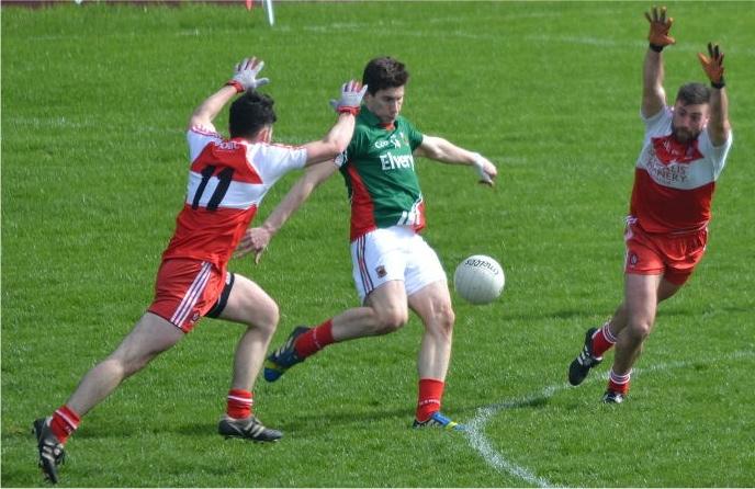 Alan Freeman scoring v Derry