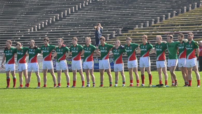 Mayo team v Derry