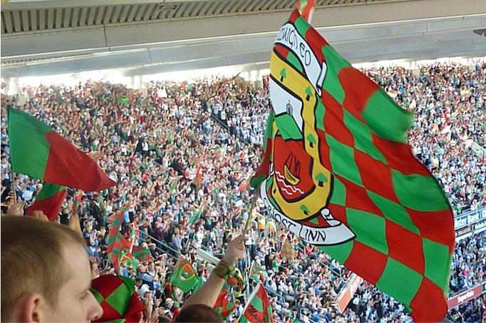 Mayo flag All-Ireland final 2013