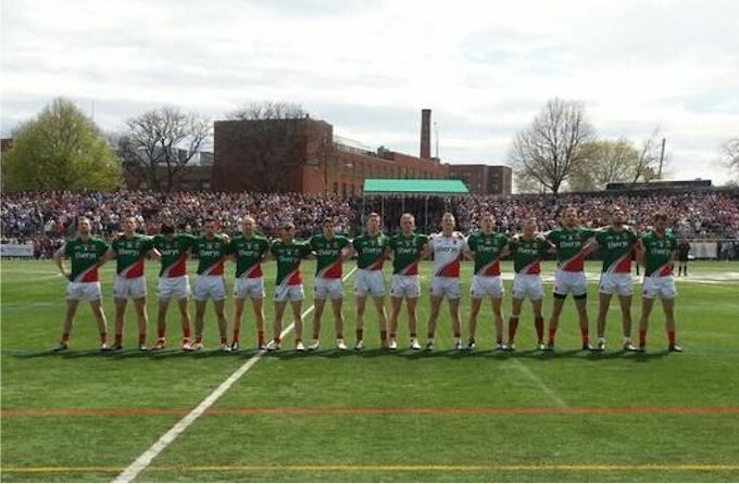 Mayo team v New York