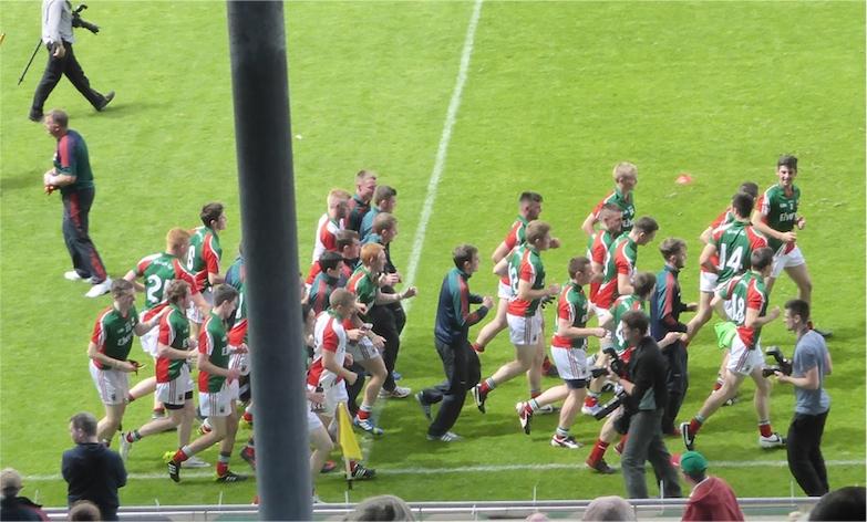 Minors victory parade