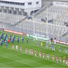 AISF pre-match parade