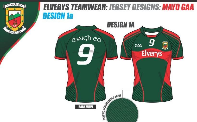 best service af634 71ede Design options for new Mayo jersey revealed - Mayo GAA Blog