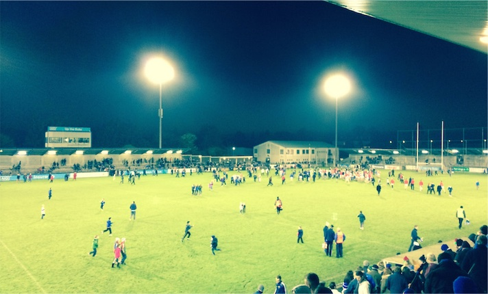 Final score at Parnell Park