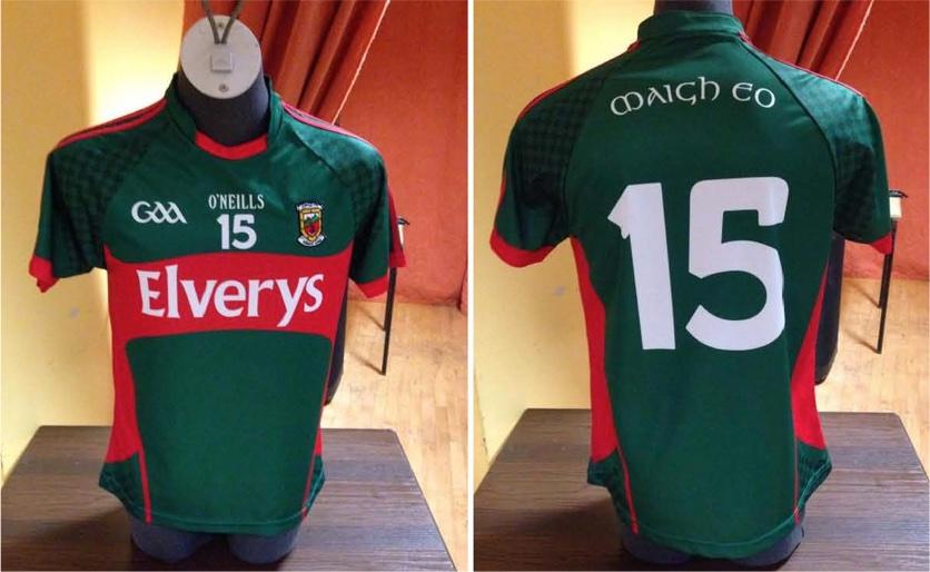 New Mayo jersey