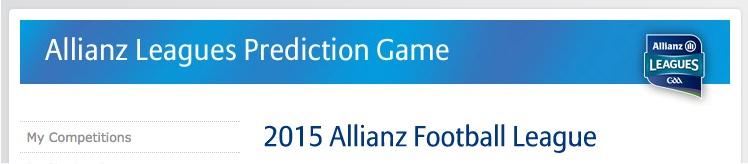 Allianz league banner