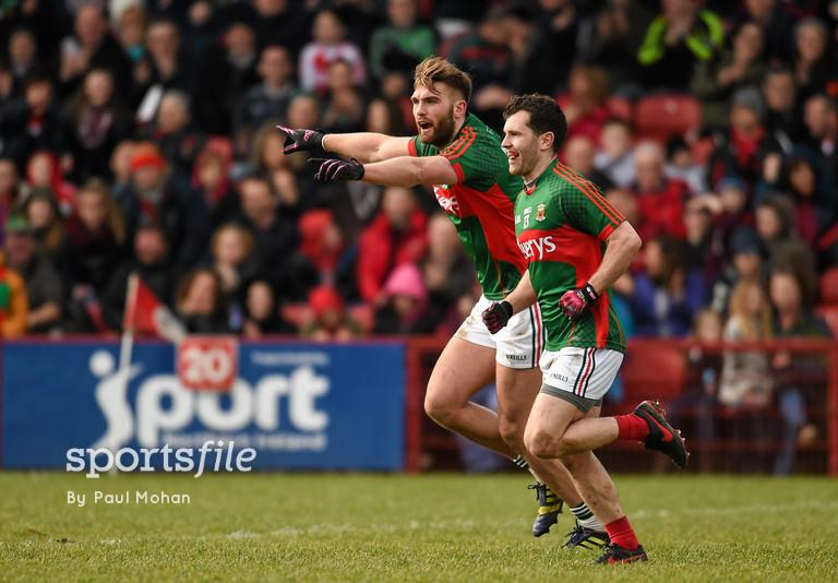Derry 1-13 Mayo 2-12: spoils secured after tight tussle