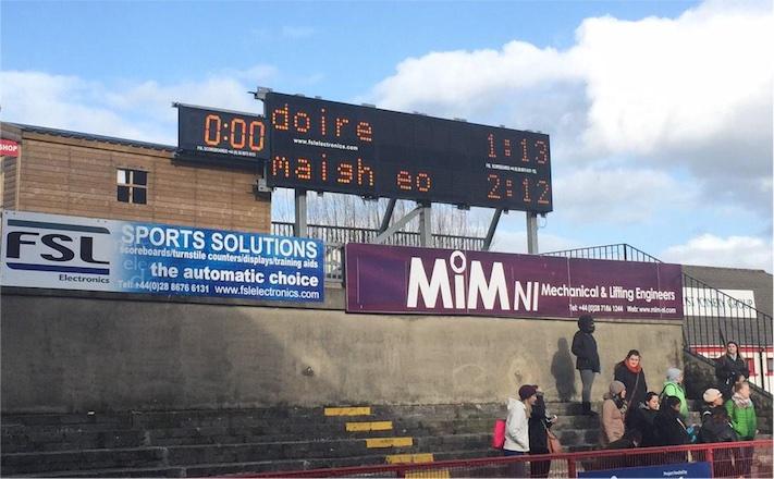 Derry final score