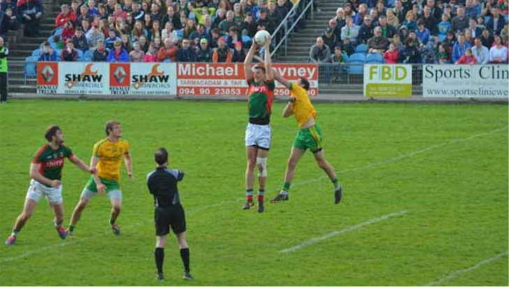 Barry Moran v Donegal