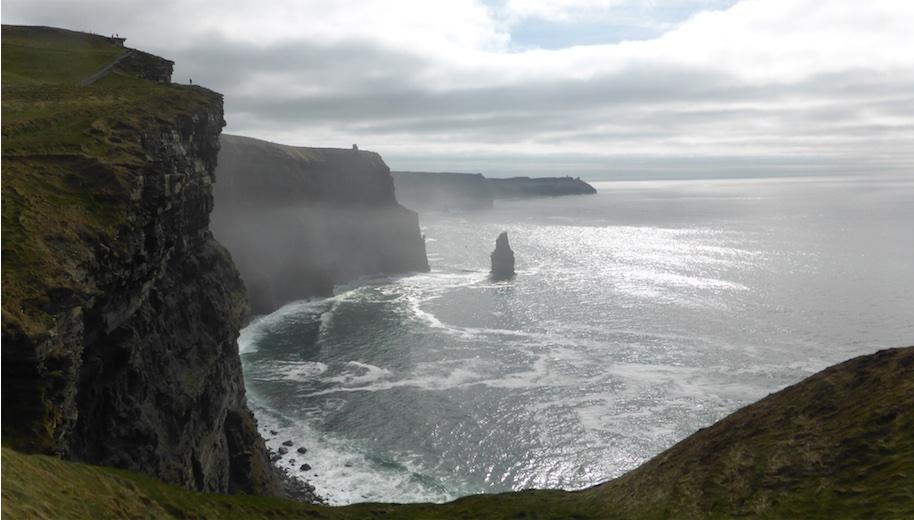 Cliffs of Moher Walk April 2015