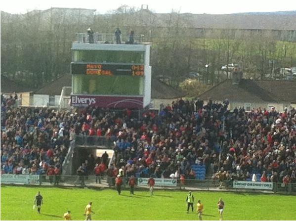 Mayo Donegal final score