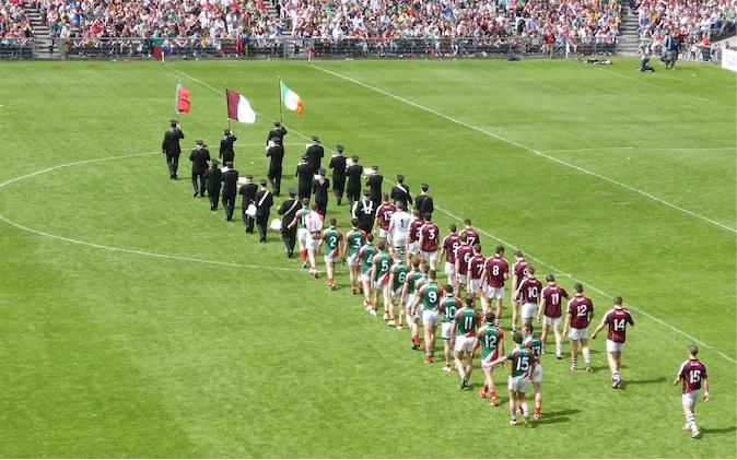 Connacht final 2014 pre-match parade