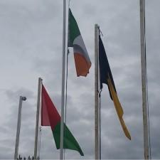 Mayo Kilkenny flags 25072015