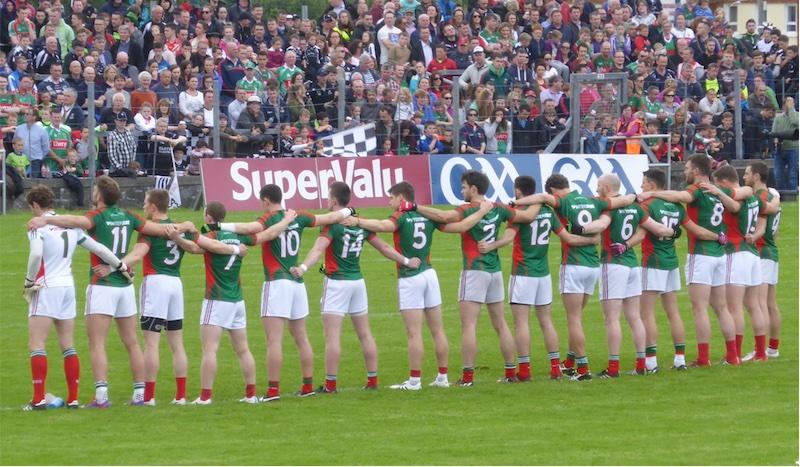 Mayo team Connacht final 2015