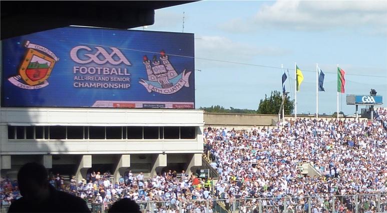 Dublin Mayo scoreboard