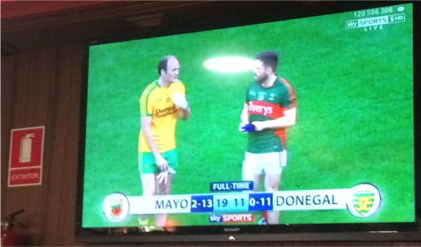 Mayo Donegal full-time 2015