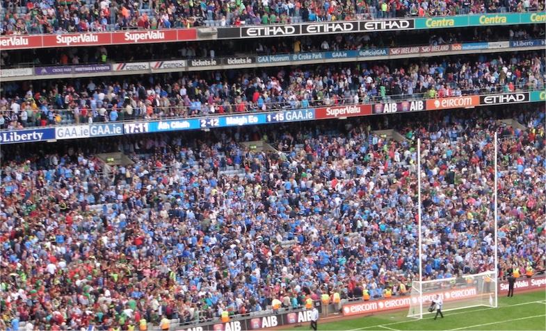 Mayo Dublin full-time AISF 2015