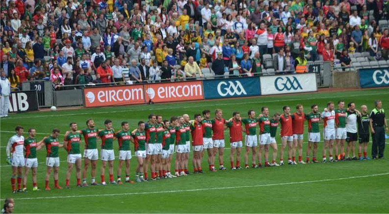 Mayo match-day squad v Donegal 2015